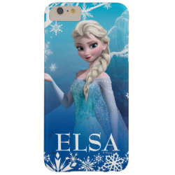 Case-Mate Barely There iPhone 6 Plus Case with Frozen's Princess Elsa of Arendelle design
