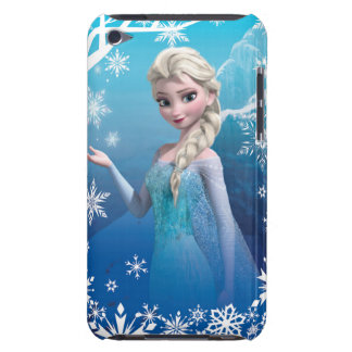 Frozen | Elsa Over the Shoulder Smirk Barely There iPod Case