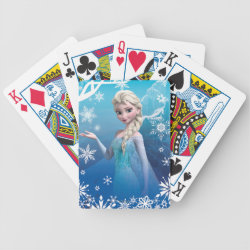 Playing Cards with Frozen's Princess Elsa of Arendelle design
