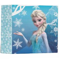 Frozen | Elsa Over the Shoulder Smirk Binder