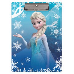 Clipboard with Frozen's Princess Elsa of Arendelle design