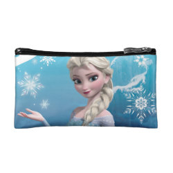 Small Cosmetic Bag with Frozen's Princess Elsa of Arendelle design