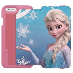 Incipio Watson™ iPhone 6 Wallet Case with Frozen's Princess Elsa of Arendelle design