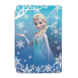 iPad mini Cover with Frozen's Princess Elsa of Arendelle design