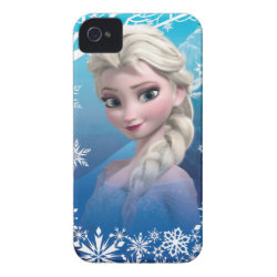 Case-Mate iPhone 4 Barely There Universal Case with Frozen's Princess Elsa of Arendelle design