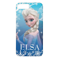Case-Mate Barely There iPhone 7 Plus Case with Frozen's Princess Elsa of Arendelle design