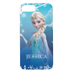 Case-Mate Barely There iPhone 7 Case with Frozen's Princess Elsa of Arendelle design
