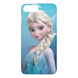 Case-Mate Tough iPhone 7 Plus Case with Frozen's Princess Elsa of Arendelle design