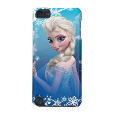 Frozen   Elsa Over The Shoulder Smirk Ipod Touch 5g Case at Zazzle
