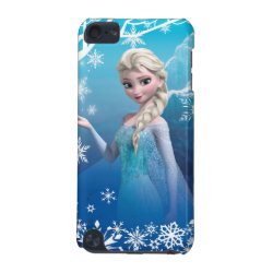 Case-Mate Barely There 5th Generation iPod Touch Case with Frozen's Princess Elsa of Arendelle design