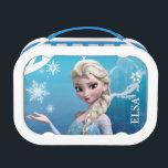 """Frozen   Elsa Over the Shoulder Smirk Lunch Box<br><div class=""""desc"""">Frozen - Elsa</div>"""