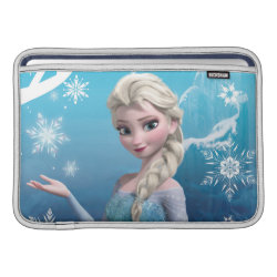 Macbook Air Sleeve with Frozen's Princess Elsa of Arendelle design