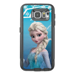 OtterBox Commuter Samsung Galaxy S6 Case with Frozen's Princess Elsa of Arendelle design