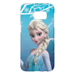 Case-Mate Barely There Samsung Galaxy S7 Case with Frozen's Princess Elsa of Arendelle design