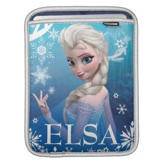 Frozen | Elsa Over the Shoulder Smirk Sleeve For iPads
