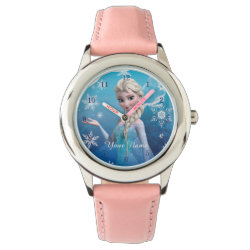 Watch with Frozen's Princess Elsa of Arendelle design
