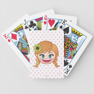 Frozen Emoji | Anna Bicycle Playing Cards