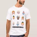 Frozen Emoji Characters T-Shirt