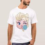 Frozen Emoji | Elsa Throwing a Kiss T-Shirt