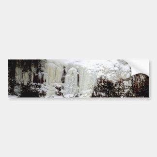 Frozen Falls Bumper Sticker