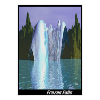 Frozen Falls Print