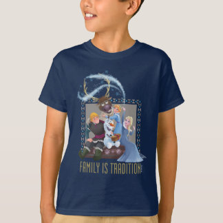 Frozen   Family is Tradition T-Shirt