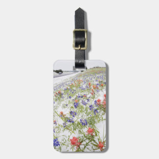 Frozen Flowers Luggage Tag