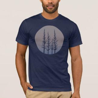 Frozen Forest Color Shift Mens Shirt