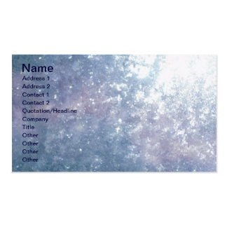 Frozen Glass Business Cards