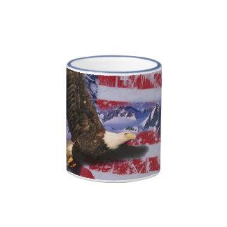 Frozen Glory Ringer Coffee Mug