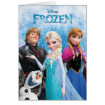Frozen Group Greeting Card