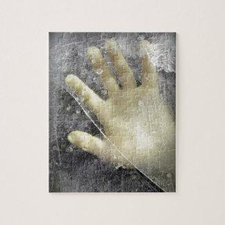 Frozen hand design jigsaw puzzles