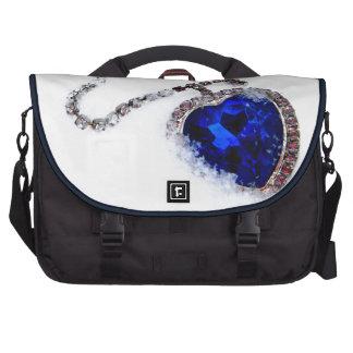 Frozen Heart Laptop Messenger Bag