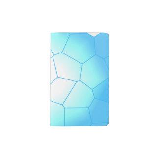 Frozen Honeycomb Pocket Moleskine Notebook