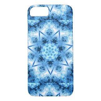 Frozen Ice Blue Crystal iPhone 7 Case