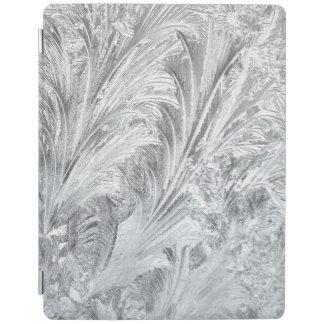 Frozen Ice Rim Crystal Ferns Cascade Winter iPad Smart Cover
