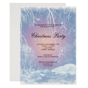 47f5d770d98 Frozen Icy Winters Christmas Party Invitation