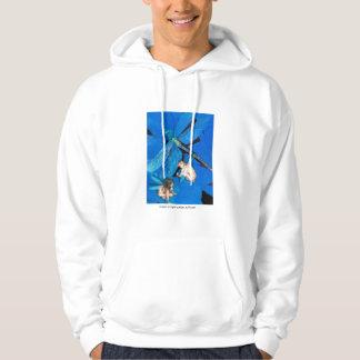 Frozen In Flight: www.AriesArtist.com Hoodie