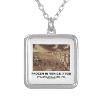 Frozen In Venice (1708) by Gabriele Bella Personalized Necklace