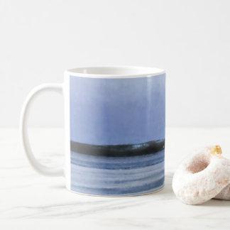 Frozen Lake Abstract Coffee Mug