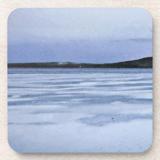 Frozen Lake Beverage Coaster