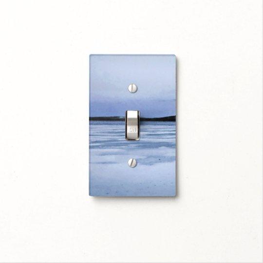 Frozen Lake Light Switch Cover Zazzlecom