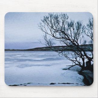Frozen Lake Mouse Pad