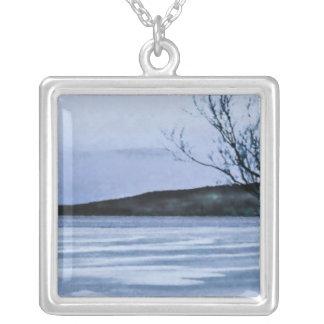 Frozen Lake Necklaces