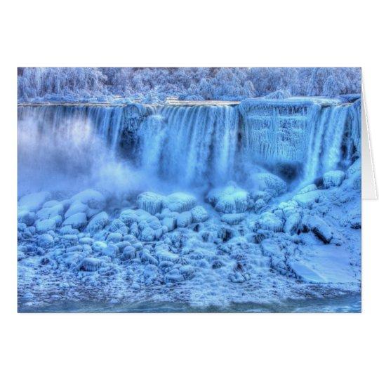 Frozen Landscape Card