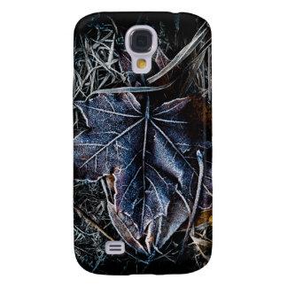 Frozen Leaf and Grass Samsung Galaxy S4 Case