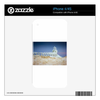 Frozen Lighthouse Skins For The iPhone 4