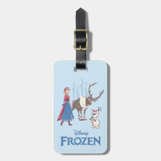 Frozen   Listen to your Heart Luggage Tag