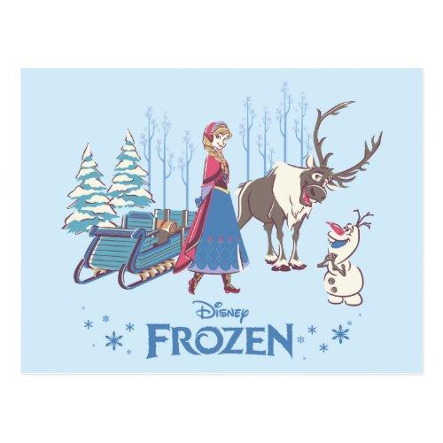 Frozen  Listen to your Heart Postcard