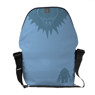 Frozen | Marshmallow Silhouette Courier Bag